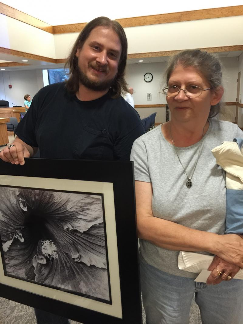 Like Mother, Like Son--TWO talented artists! Jesse Selley  and his mother, Wanda Selley.