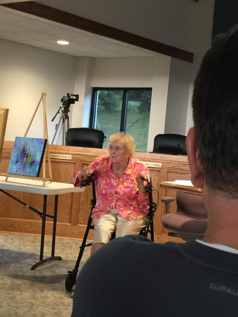 Nancy Bush, artist and one of the founders of the WHAL, explains its early history.
